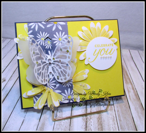 Bold Butterfly Framelits  Butterflies Thinlits  Delightful Daisy DSP  Daisy Punch  Classic Label Punch  Rhinestones  Pearls - 1