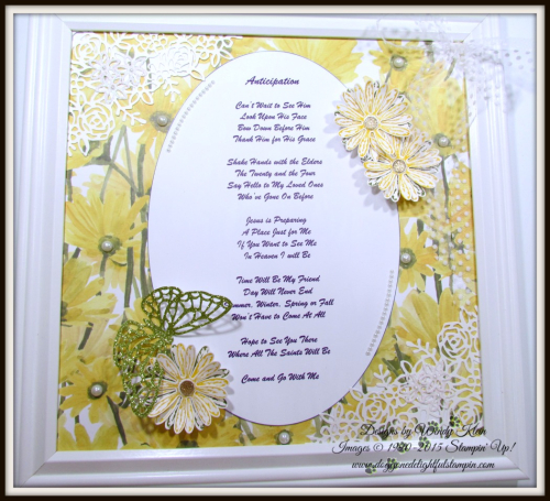 Delightful Daisy  Daisy Punch  Springtime Impressions Thinlits - 3