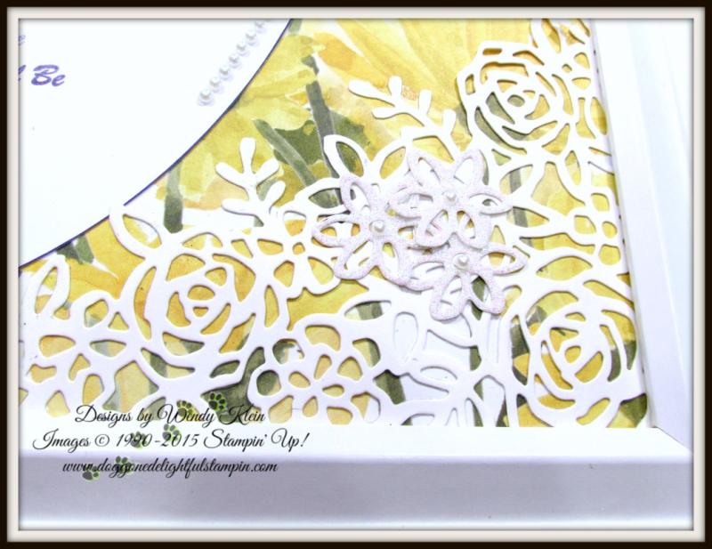 Delightful Daisy  Daisy Punch  Springtime Impressions Thinlits - 8