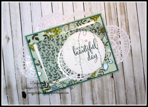 Love What You Do  Share What You Love DSP  Pearlized Doilies  Embellishment Kit  Stitched Shapes Framelits  Pearls - 3
