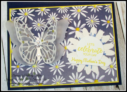 Bold Butterfly Framelits  Butterflies Thinlits  Delightful Daisy DSP  Daisy Punch  Classic Label Punch  Rhinestones  Pearls - 4