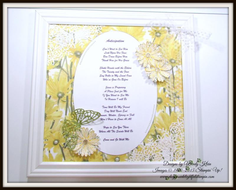 Delightful Daisy  Daisy Punch  Springtime Impressions Thinlits - 1