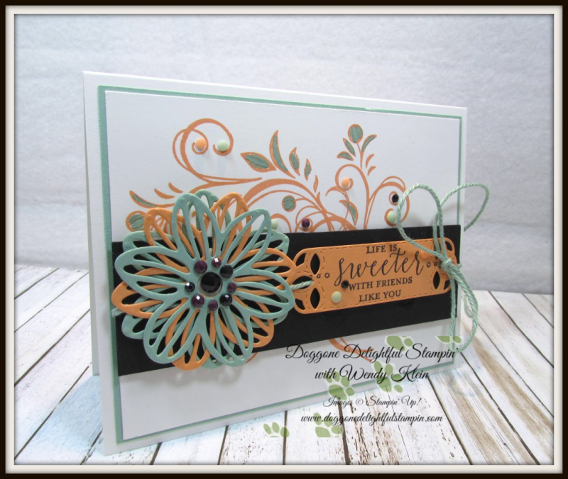 Falling Flowers  May Flowers Framelits  Detailed With Love  Stitched Labels Framelits  Faceted Dots  Natures Twine - 3