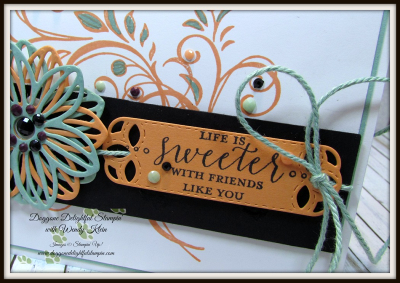 Falling Flowers  May Flowers Framelits  Detailed With Love  Stitched Labels Framelits  Faceted Dots  Natures Twine - 5
