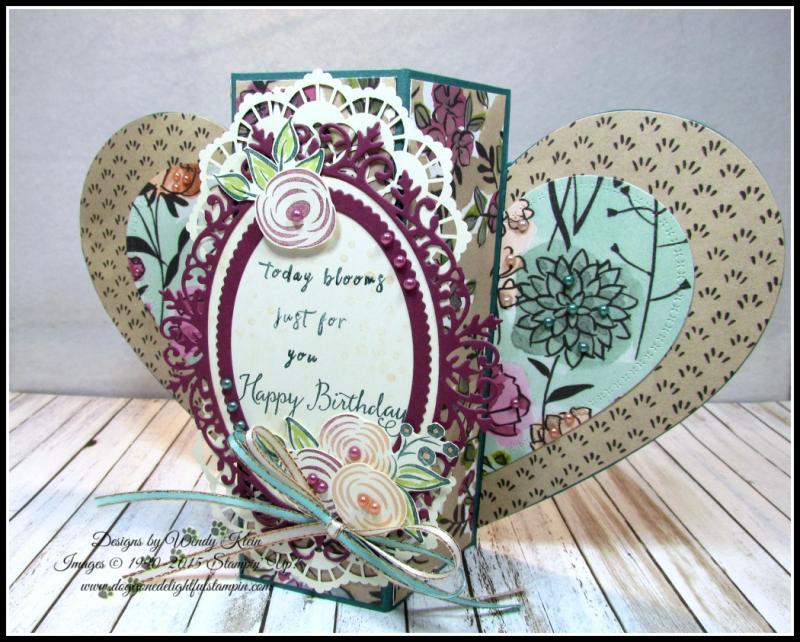 Perennial Birthday  Balloon Celebration  Share What You Love SpDSP   Artisan Pearls  Tea Room Ribbon - 1