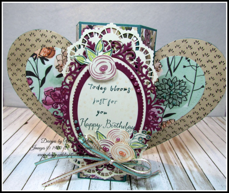 Perennial Birthday  Balloon Celebration  Share What You Love SpDSP   Artisan Pearls  Tea Room Ribbon - 3