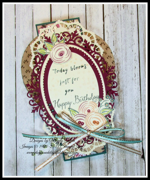 Perennial Birthday  Balloon Celebration  Share What You Love SpDSP   Artisan Pearls  Tea Room Ribbon - 4
