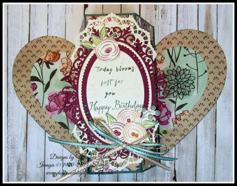 Perennial Birthday  Balloon Celebration  Share What You Love SpDSP   Artisan Pearls  Tea Room Ribbon - 5