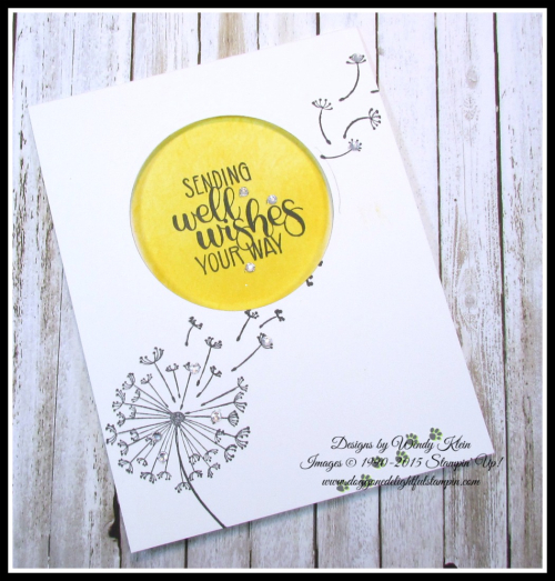 Dandelion Get Well Wishes - 3