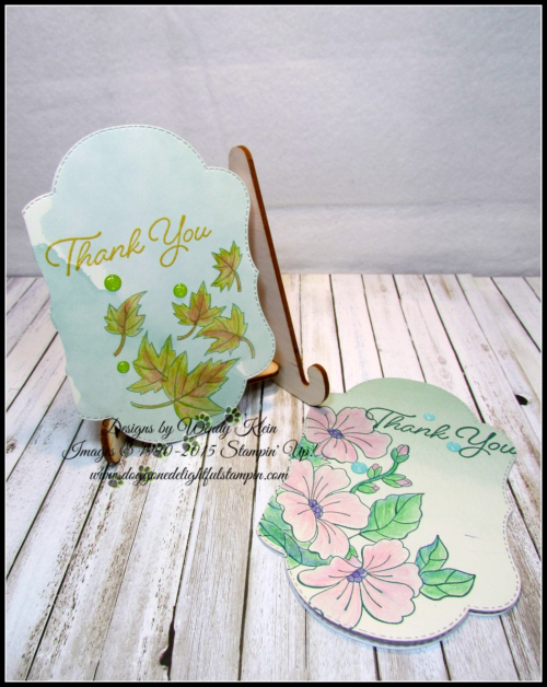 Delightfully Detailed Notecards w_Blended Seasons & Watercolor Pencils 2-3