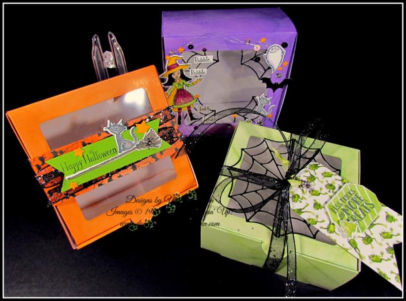 Halloween Baker's Box Trio - 6