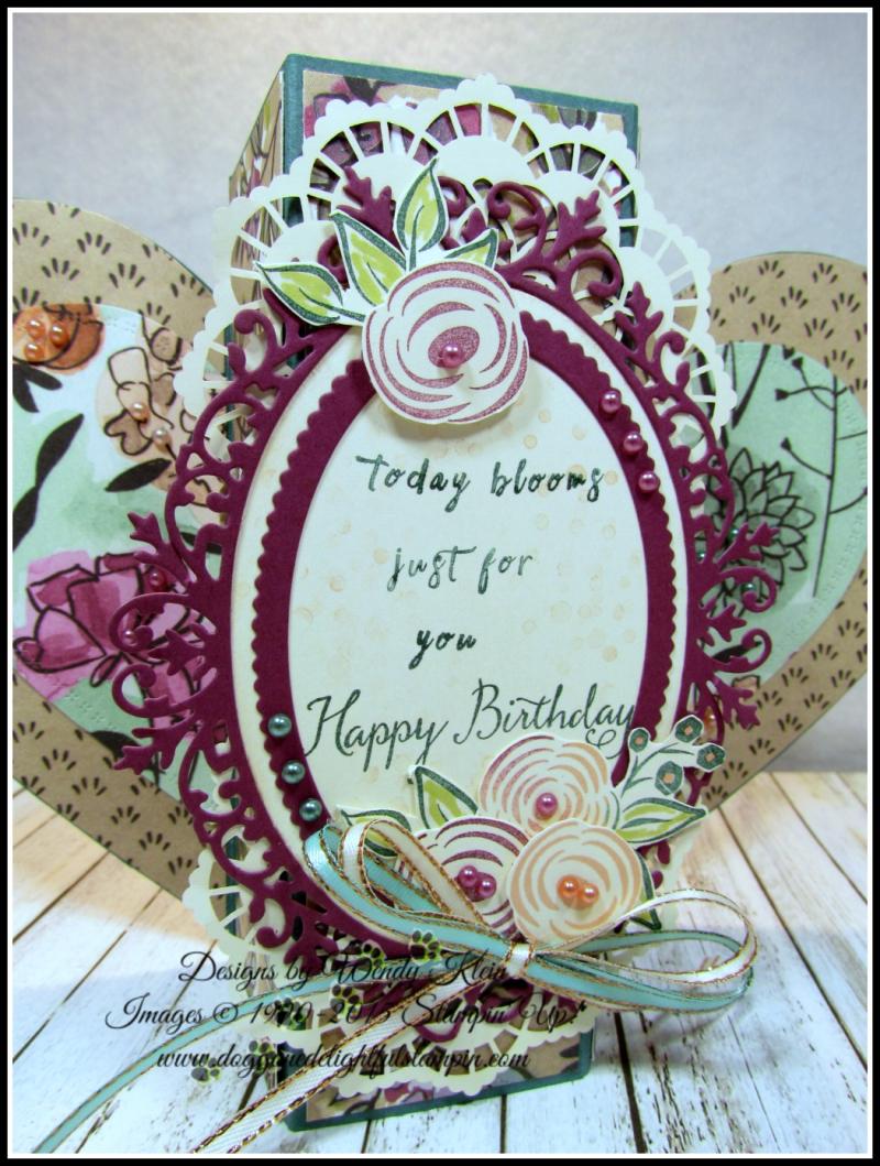 Perennial Birthday  Balloon Celebration  Share What You Love SpDSP   Artisan Pearls  Tea Room Ribbon - 6