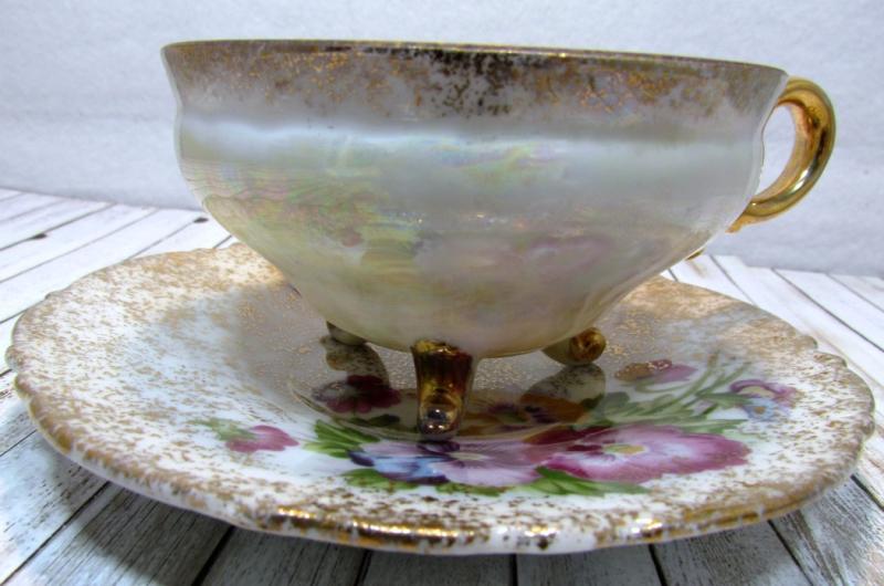 Antique Teacup - 2