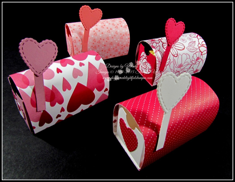 All My Love Gift Set and Mail Boxes - 3