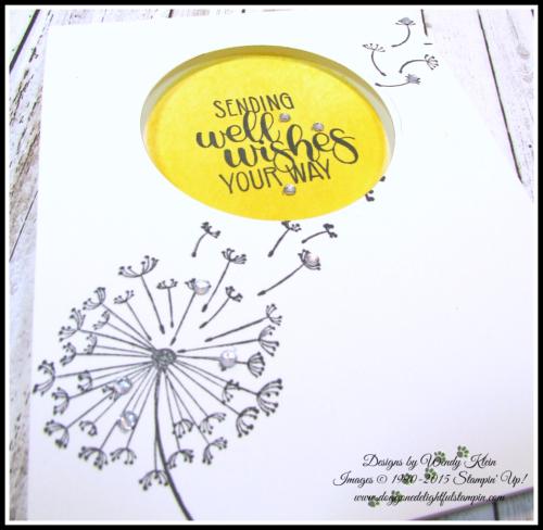Dandelion Get Well Wishes - 4