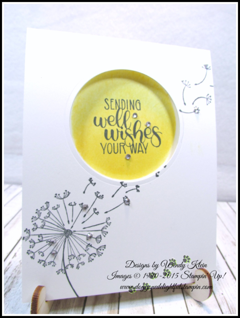 Dandelion Get Well Wishes - 2