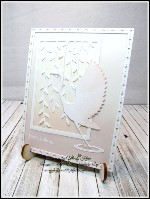 Memory Box - Poppy Stamps Graceful Heron - 7