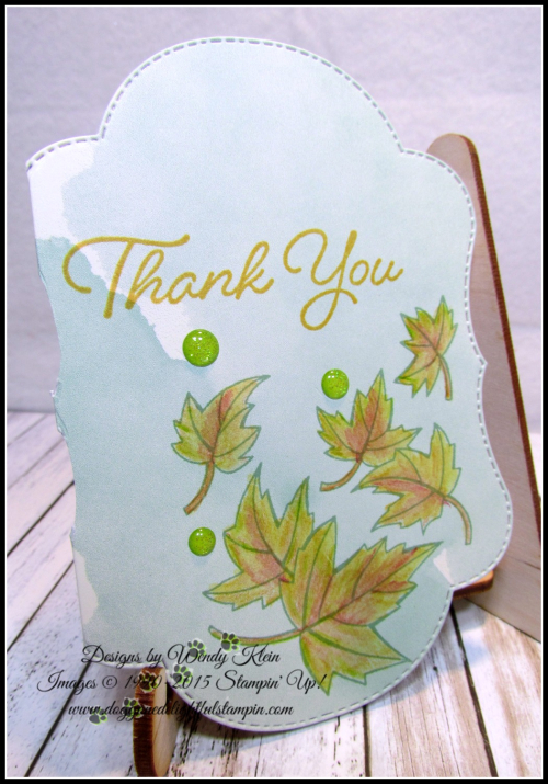 Delightfully Detailed Notecards w_Blended Seasons & Watercolor Pencils 2-4