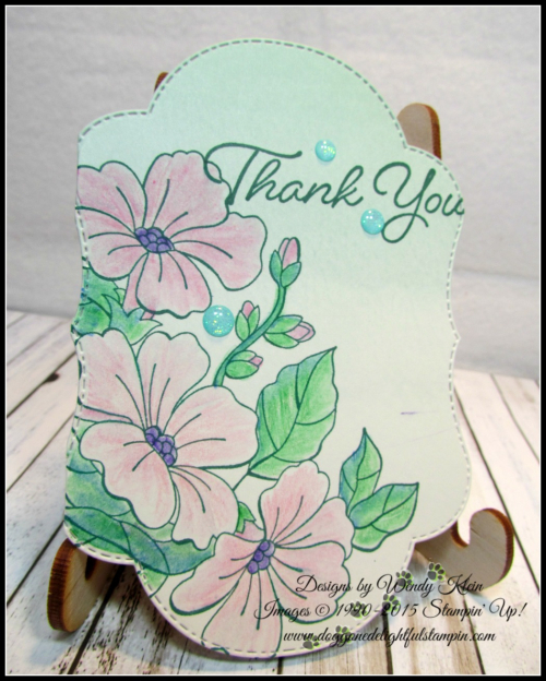 Delightfully Detailed Notecards w_Blended Seasons & Watercolor Pencils 2-5