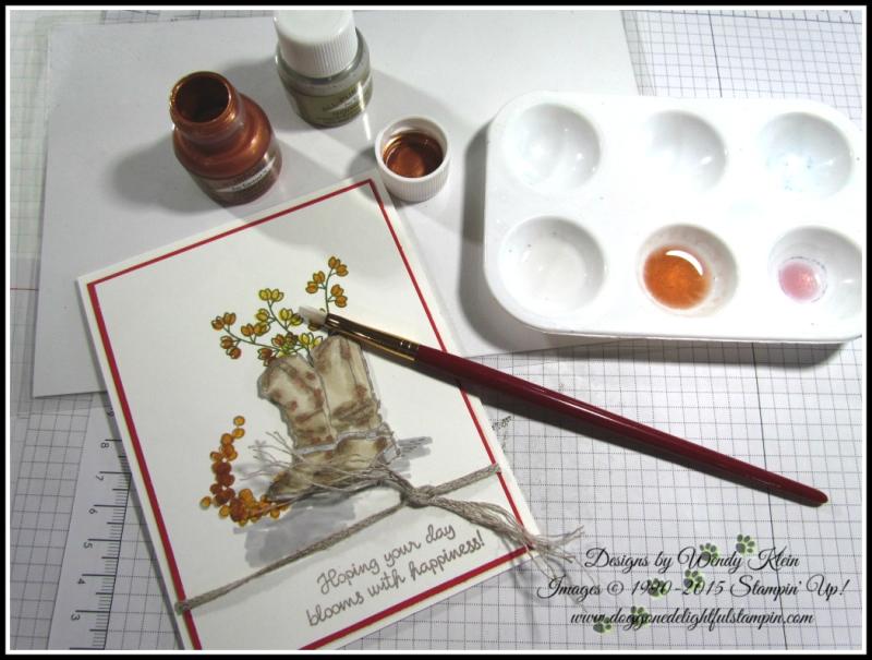 Country Livin_Varied Vases_Shimmer Paint Tech