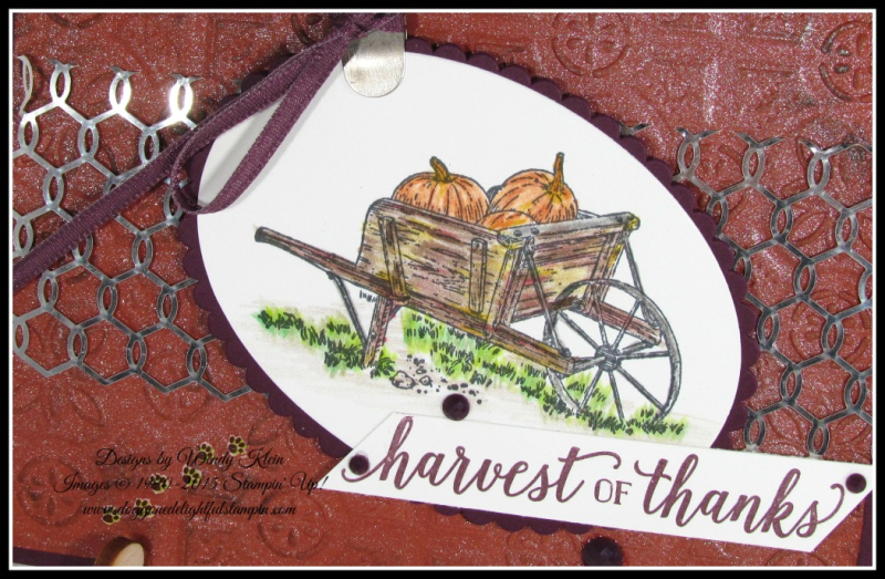 Pleasant Pheasants_Falling for Leaves_Country Home_Layering Ovals_Tin Tile TIEF_Shimmer Paint - 2