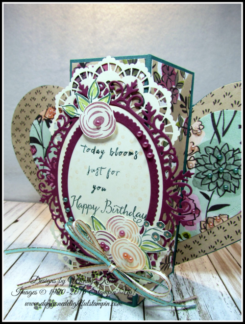 Perennial Birthday  Balloon Celebration  Share What You Love SpDSP   Artisan Pearls  Tea Room Ribbon - 2