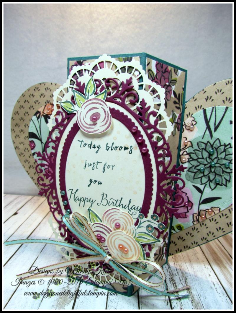 Perennial Birthday  Balloon Celebration  Share What You Love SpDSP   Artisan Pearls  Tea Room Ribbon - 2