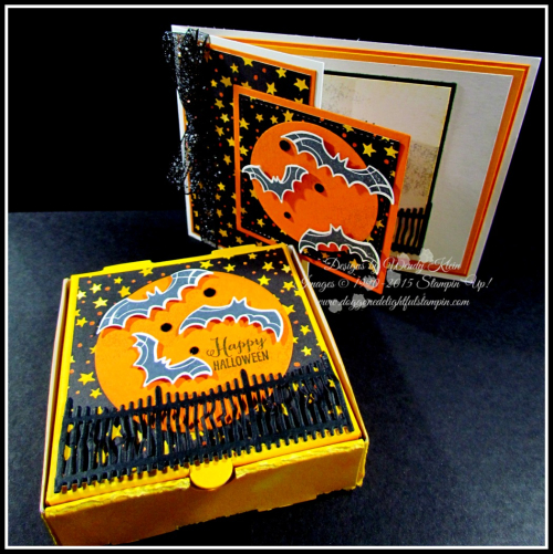Spooky Sweets_Farmhouse Framelits_Pizza Box_Card Set - 6