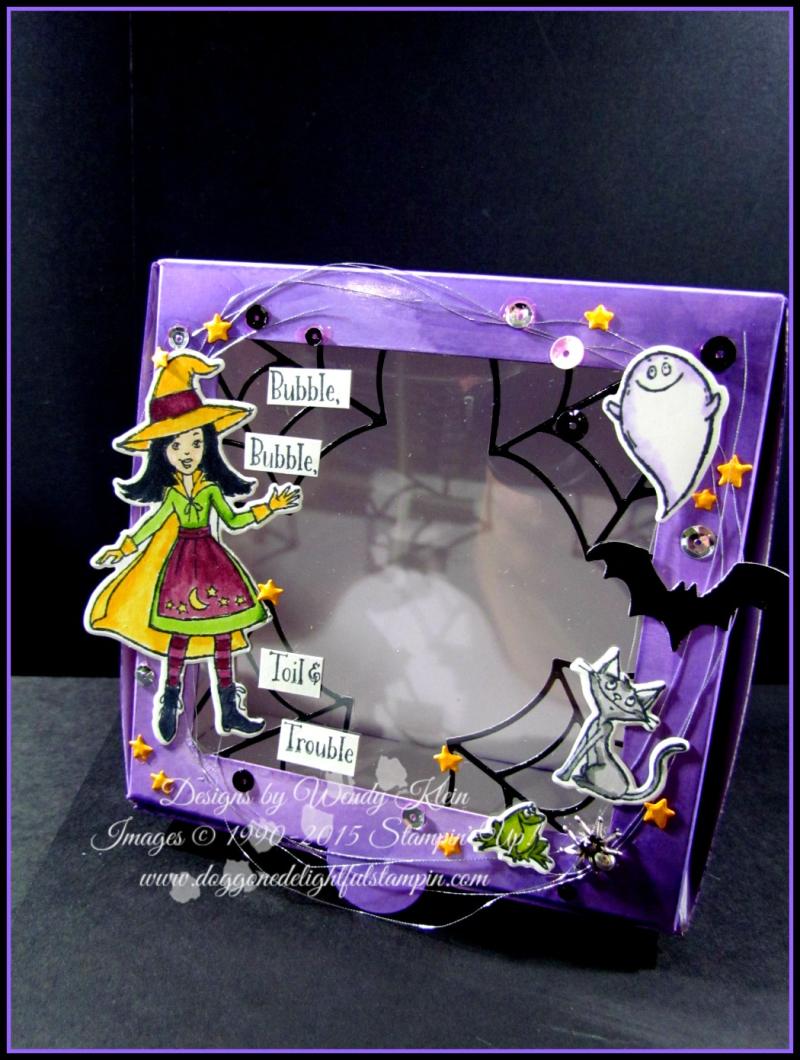 Cauldron Bubble Box & Card Set - 3