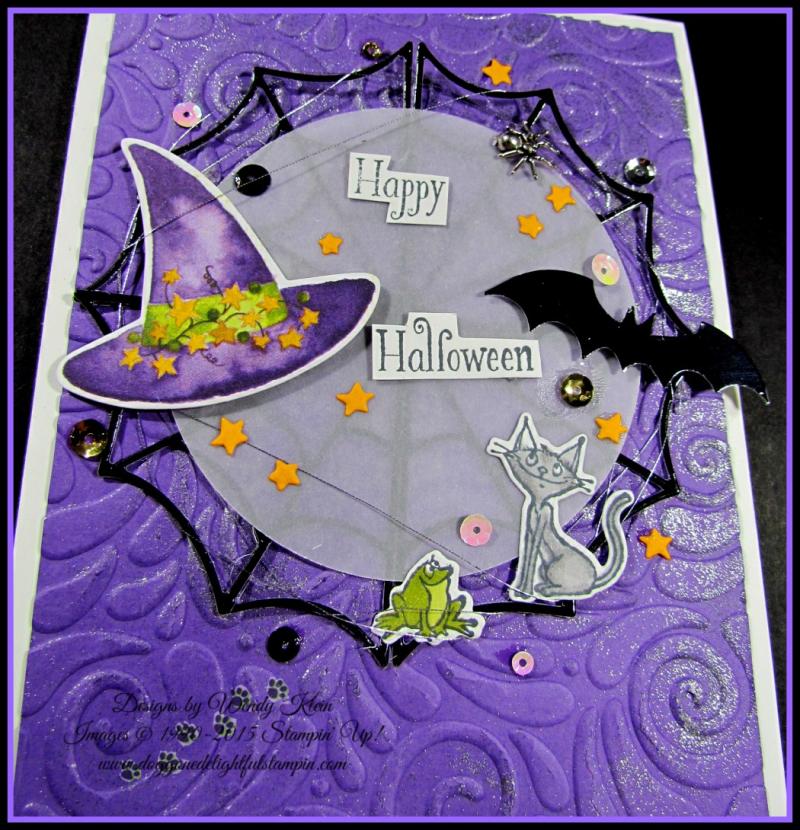 Cauldron Bubble Box & Card Set - 6