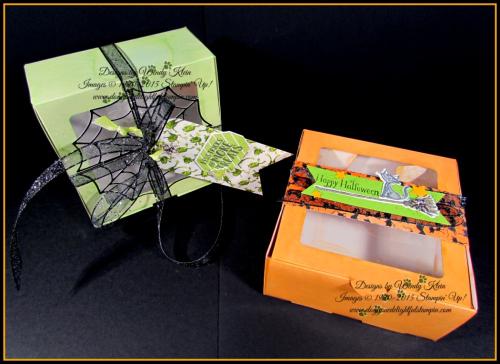 Halloween Baker's Box Trio - 1