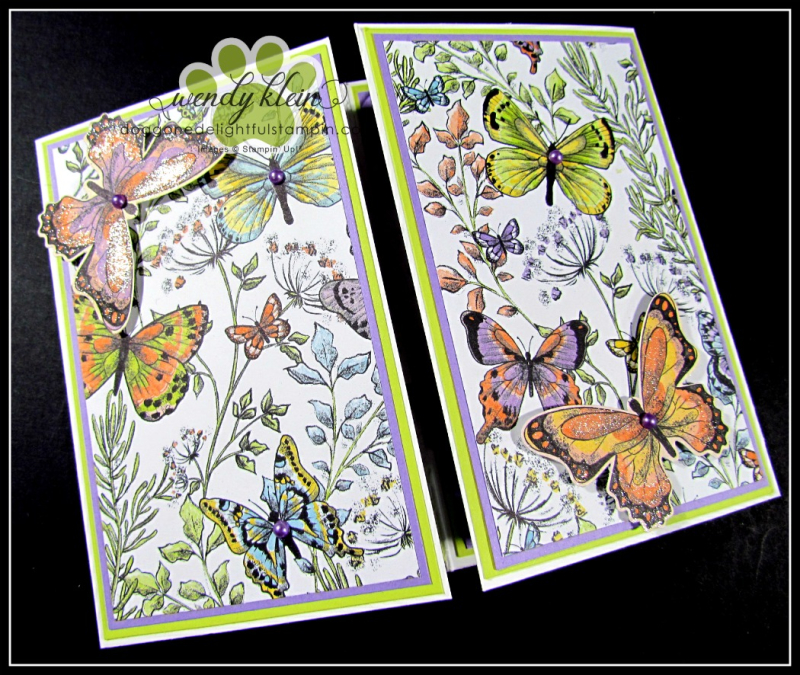 2019 Sale-A-Bration Focus  Botanical Butterfly DSP  Butterfly Embellishments  Butterfly Duet Punch - 3