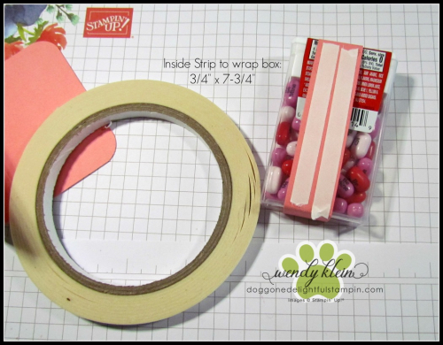 Tic Tac Gift Booklet Tutorial - 3