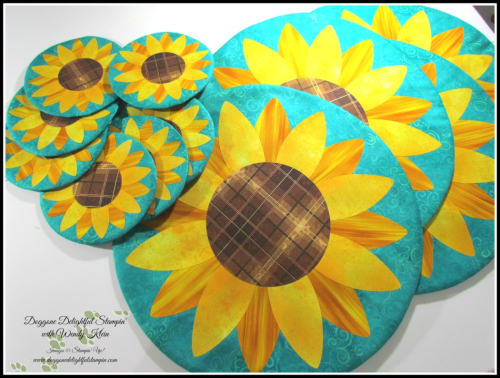 Sunflower Table Set - 1