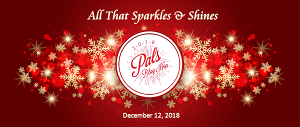 December All that Sparkles and Shines post graphic