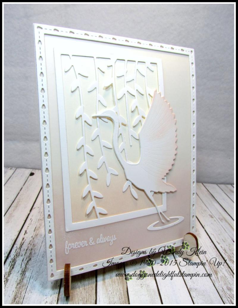 Memory Box - Poppy Stamps Graceful Heron - 9