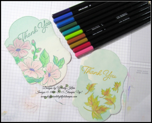 Delightfully Detailed Notecards w_Blended Seasons & Watercolor Pencils_2-2