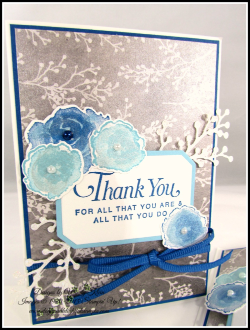 Frosted Bouquet Thank You - 2