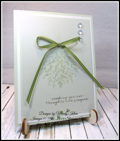 Wishing You Well w_Vellum_Shimmer Paint - 2