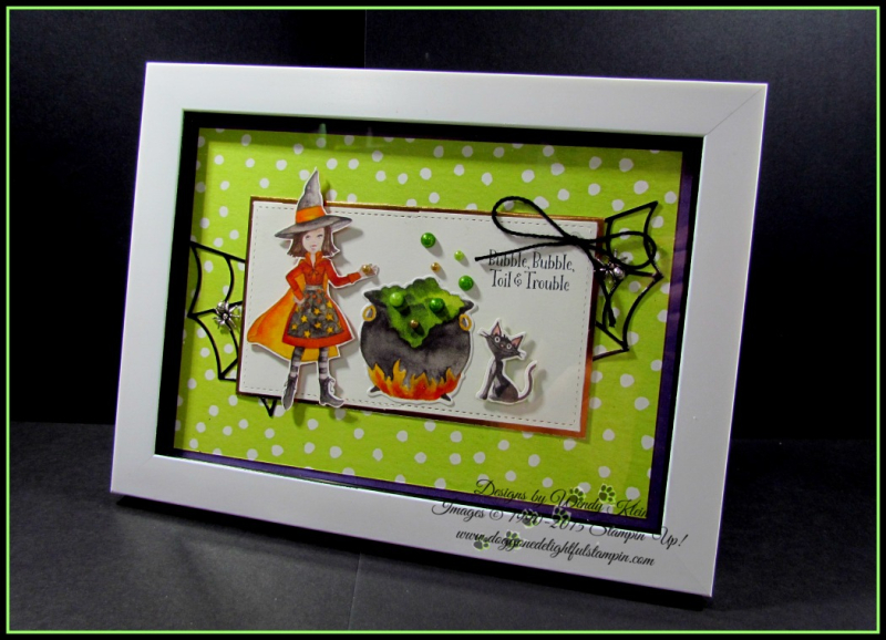 Cauldron Bubble Framed Artwork - 1