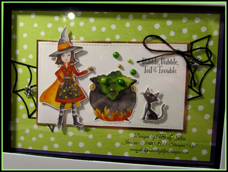 Cauldron Bubble Framed Artwork - 3