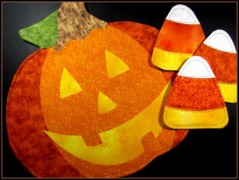 Jack-o-Lantern Table Set - 1