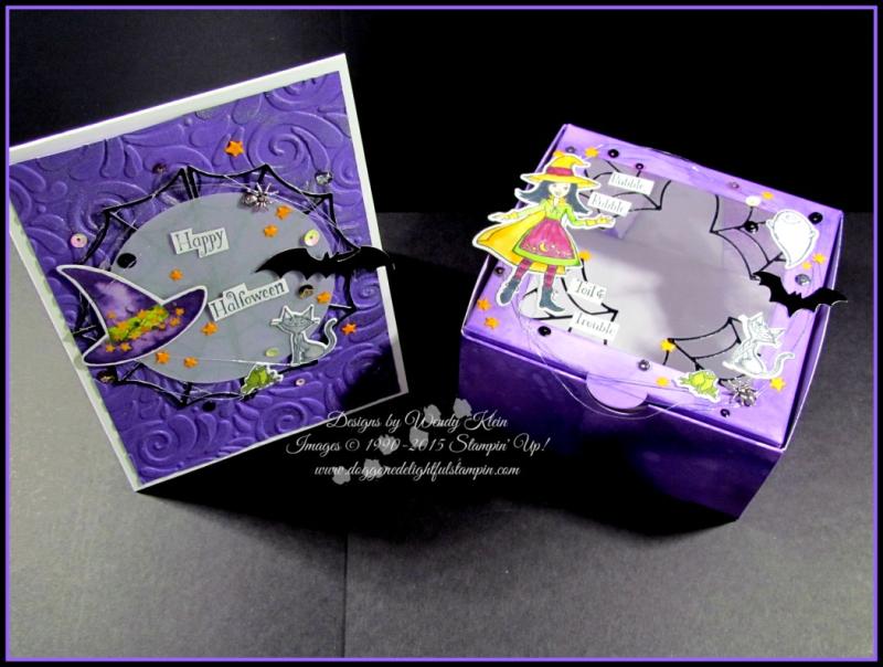 Cauldron Bubble Box & Card Set - 1