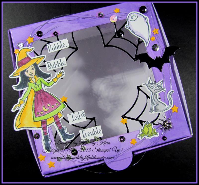 Cauldron Bubble Box & Card Set - 4