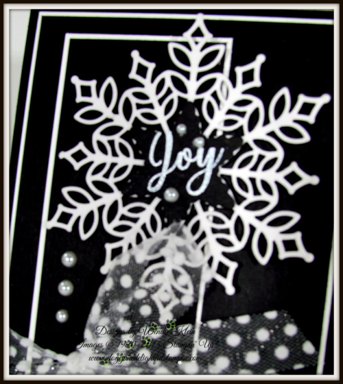 Snowflake Showcase in Black Tie Elegance - 5