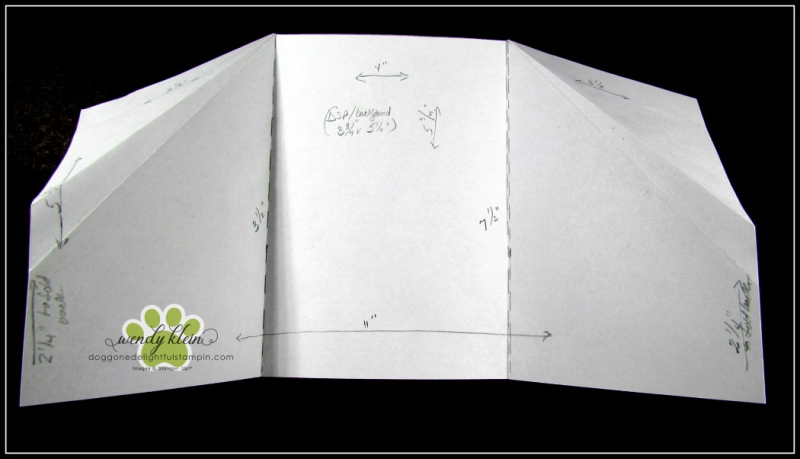 Forever Lovely Gate Fold Pocket Card - 5