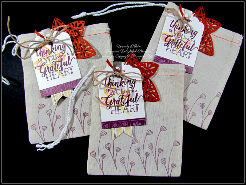 Santa's Bags Thanksgiving Place Settings - 4