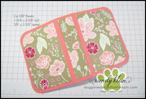 Tic Tac Gift Booklet Tutorial - 2