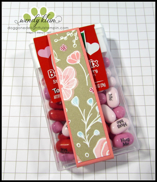 Tic Tac Gift Booklet Tutorial - 4