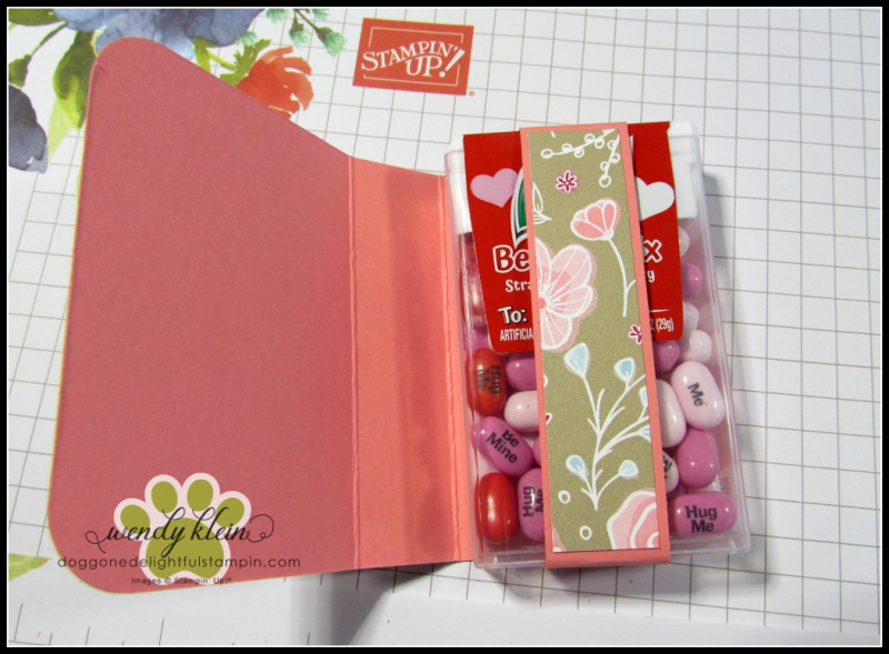 Tic Tac Gift Booklet Tutorial - 5